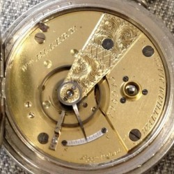 Waltham Grade Wm. Ellery Pocket Watch