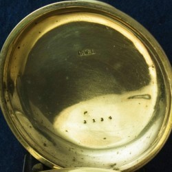 U.S. Watch Co. (Marion, NJ) Grade George Channing Pocket Watch