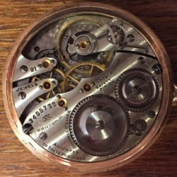 Elgin Pocket Watch #3455732