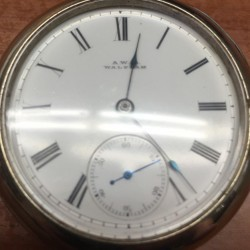 Waltham Grade R.E. Robbins Pocket Watch
