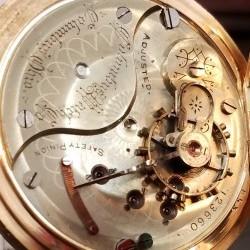 Columbus Watch Co. Pocket Watch Grade Unknown #123660