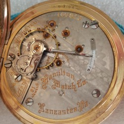 Hamilton Grade 941 Pocket Watch