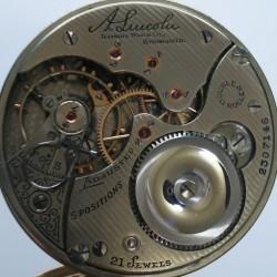 Illinois Grade A. Lincoln Pocket Watch