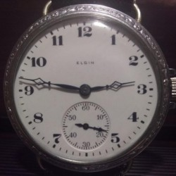 Elgin Grade 344 Pocket Watch