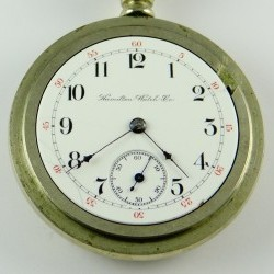 Hamilton Grade 7j Pocket Watch Image