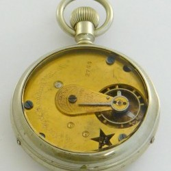 New York Standard Watch Co. Grade Worm Pocket Watch Image
