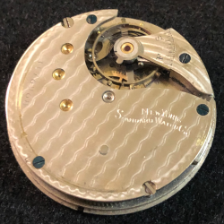 New York Standard Watch Co. Grade 91 Pocket Watch Image