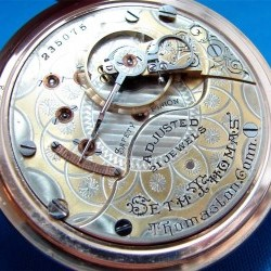 Seth Thomas Grade 291 Pocket Watch