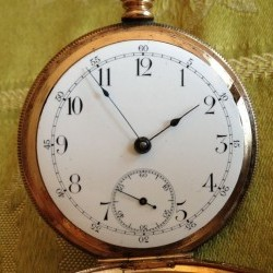 Seth Thomas Grade 179 Pocket Watch