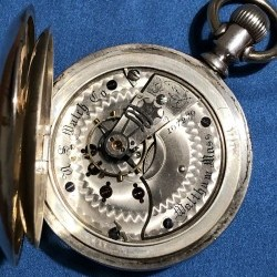 U.S. Watch Co. (Waltham, Mass) Grade 93 Pocket Watch Image