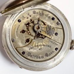 U.S. Watch Co. (Waltham, Mass) Grade The President Pocket Watch