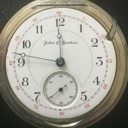 Hampden Grade John C. Dueber Pocket Watch