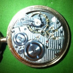 Hamilton Pocket Watch #3891980