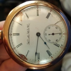 Hamilton Grade 968 Pocket Watch