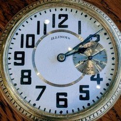 Illinois Grade 174 Pocket Watch