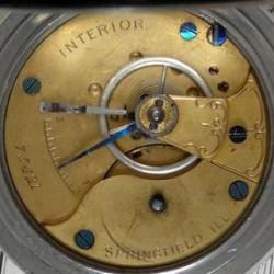 Illinois Grade Interior Pocket Watch