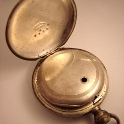 Illinois Grade Currier Pocket Watch