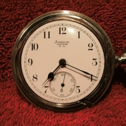 Waltham Grade No. 15 Pocket Watch