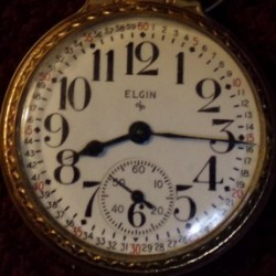 Elgin Grade 575 Pocket Watch