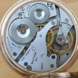Waltham Grade No. 1609 Pocket Watch