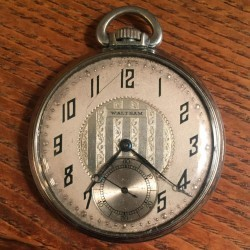 Waltham Grade No. 1235 Pocket Watch