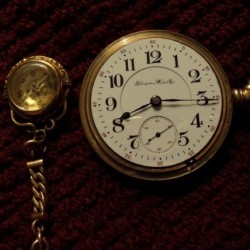 Hampden Grade Special Railway Pocket Watch