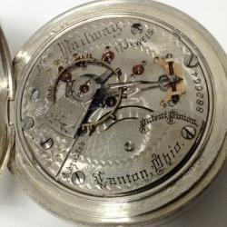 Hampden Grade New Railway Pocket Watch