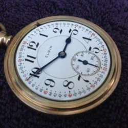 Elgin Grade 374 Pocket Watch