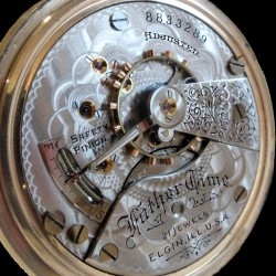Elgin Grade 252 Pocket Watch