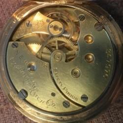 Columbus Watch Co. Pocket Watch Grade  #347976