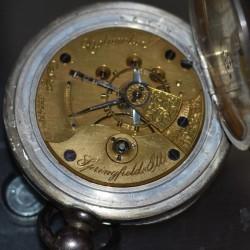 Illinois Grade Columbia Pocket Watch