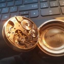 E. Howard Watch Co. (Keystone) Grade Series 11 Pocket Watch