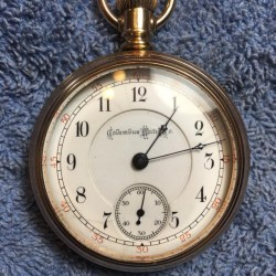 Columbus Watch Co. Grade Unknown Pocket Watch
