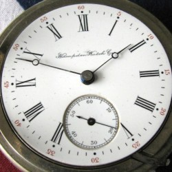 Hampden Grade Dueber Pocket Watch
