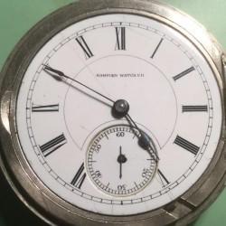 Hampden Grade No. 45 Pocket Watch