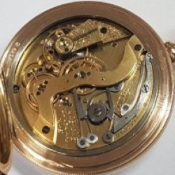 Waltham Grade Hillside Pocket Watch