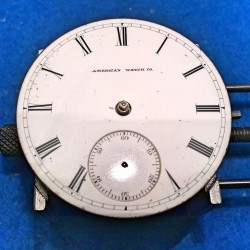 Waltham Grade W.W.Co. Pocket Watch