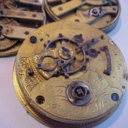 Rockford Grade M1-11J Pocket Watch Image