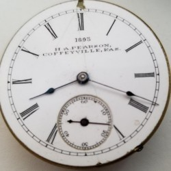 Rockford Grade 162 Pocket Watch