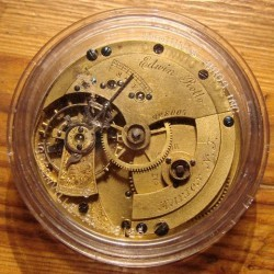 U.S. Watch Co. (Marion, NJ) Grade Edwin Rollo Pocket Watch
