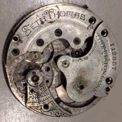 Seth Thomas Grade 122 Pocket Watch