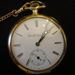 Hamilton Grade 974 Pocket Watch