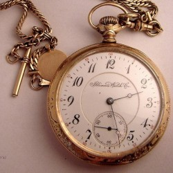 Illinois Grade 184 Pocket Watch