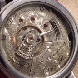 Elgin Grade 183 Pocket Watch