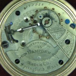 Hampden Grade No. 57 Pocket Watch