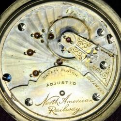 Hampden Grade North American Railway Pocket Watch