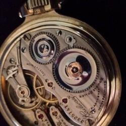 Hampden Grade Railway Pocket Watch Image