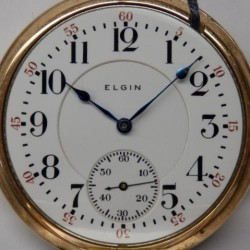 Elgin Grade 376 Pocket Watch