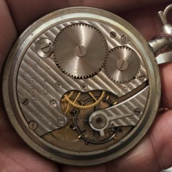 Ingersoll Watch Co. Grade  Pocket Watch