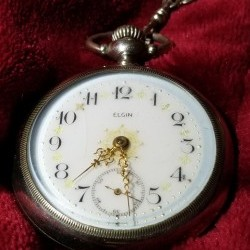 Elgin Grade 218 Pocket Watch